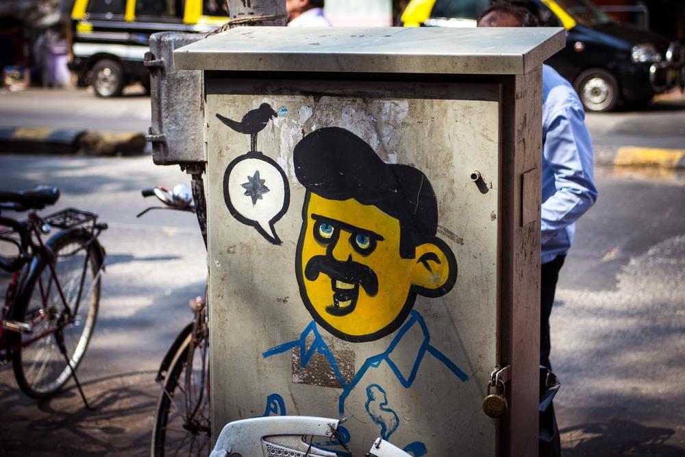 Mumbai graffiti