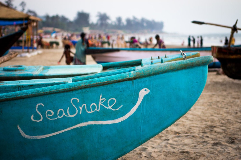 Sea Snake fishing boat