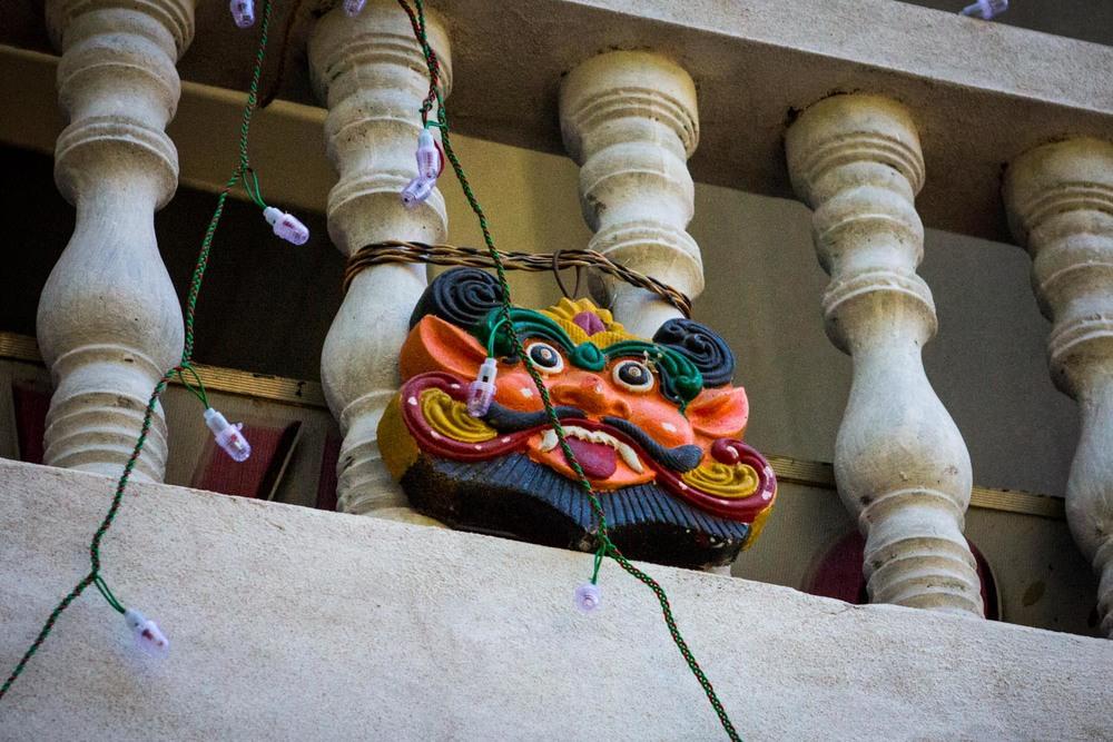Hindu mask - Palolem