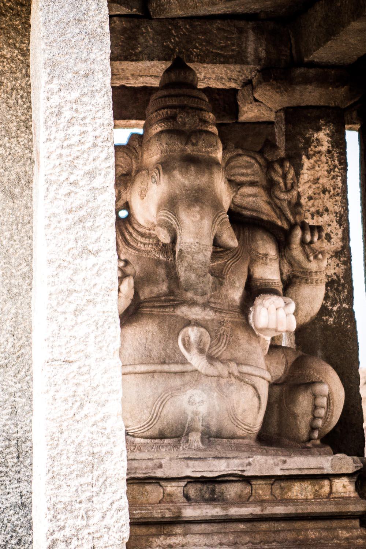 Mustered Ganesha
