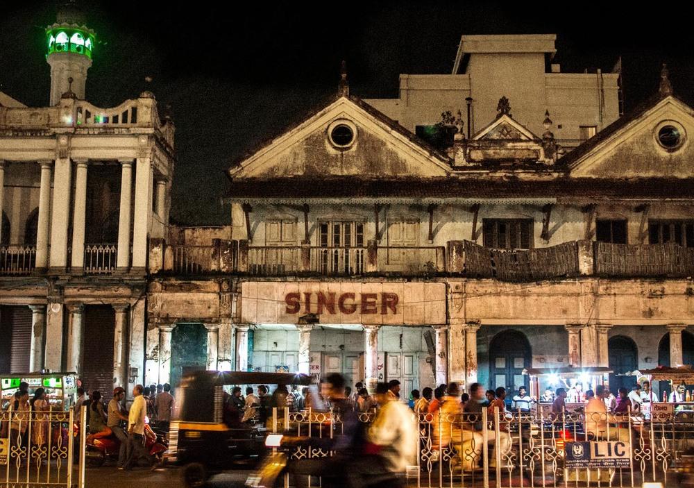 Singer building, Mysore