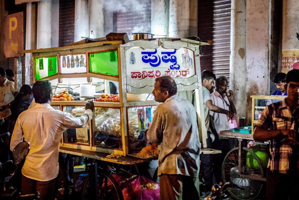 Street Vendor, Mysore