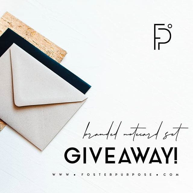 🎉🎉🎉ENTER TO WIN!!!🎉🎉🎉 As we continue to celebrate our upcoming workshop (only two weeks away!!!), This week we will choose one winner randomly who will get a custom set of 💥BRANDED NOTECARDS💥 -⠀ ⠀⠀⠀⠀⠀⠀⠀ To Enter:  1.Follow @thebusybeeeventsanddesign@lysuelhphotography @elevennote,  2.Tag at least one fellow local business owners (the more tags the more entries). - 💥BONUS💥 This week only! If you purchase a ticket to the workshop, you automatically win a custom set of branded notecards on top of all the other awesome goodies you will receive at the workshop! 🙆‍♀️💌⠀⠀⠀⠀⠀⠀⠀⠀ #FosterPurposeGiveaway - ⠀⠀⠀⠀⠀⠀⠀⠀ Tap for credits!!! #fosterpurpose #brandingphotography#flatlay #propstylist #stockphotography#stockimage #stylingworkshop#pursuepretty #productstylist#flatlaynation #theflatlaysquad #flatlays#foodandflatlay #onthetable #stylingcourse#photographyworkshop#instagramworkshop #marketingworkshop#socialmediaworkshop#instagrammarketing#socialmediamarketing#socialmediaforsmallbusiness#socialmediatraining #socialmediacoach#socialmediatips#communityovercompetition#risingtidesociety #orlandoworkshop#orlandodoesntsuck