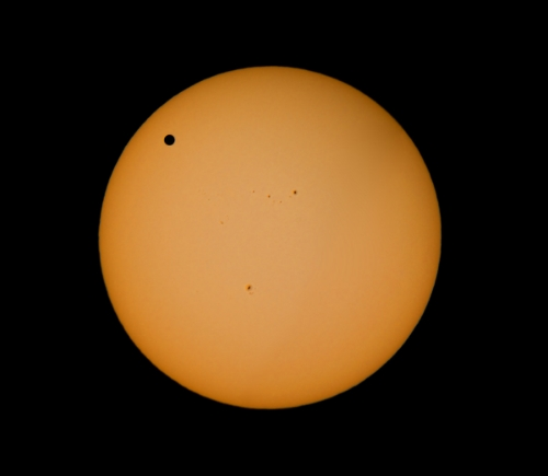 Back in 2012, there was a once in a life time even as Venus went in front of the Sun from the Earth's perspective.