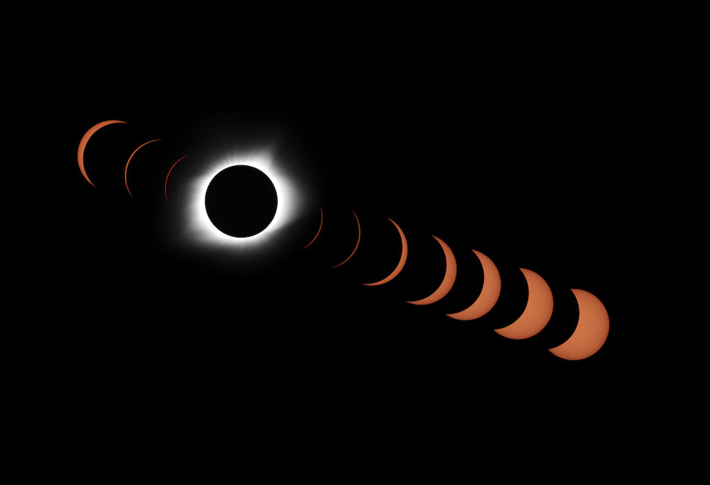2017 Solar Eclipse Collage