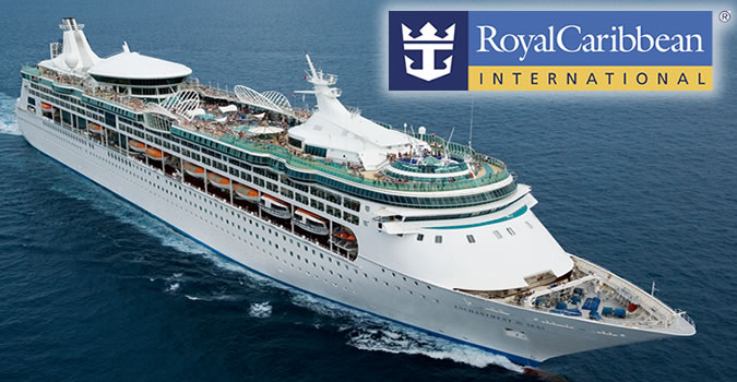 Royal Caribbean International  Voted Best Cruise Line Overall for 12 consecutive years by  Travel Weekly