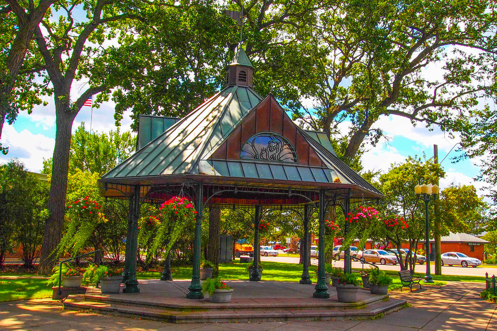 Railroad Park Gazebo