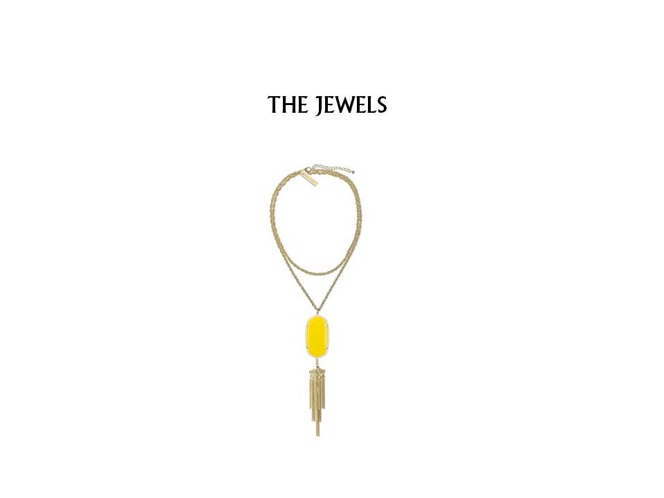 I am a sucker for anything with a tassel. And I love Kendra Scott's ability to make things fun and whimsical. You can find it here for $80!