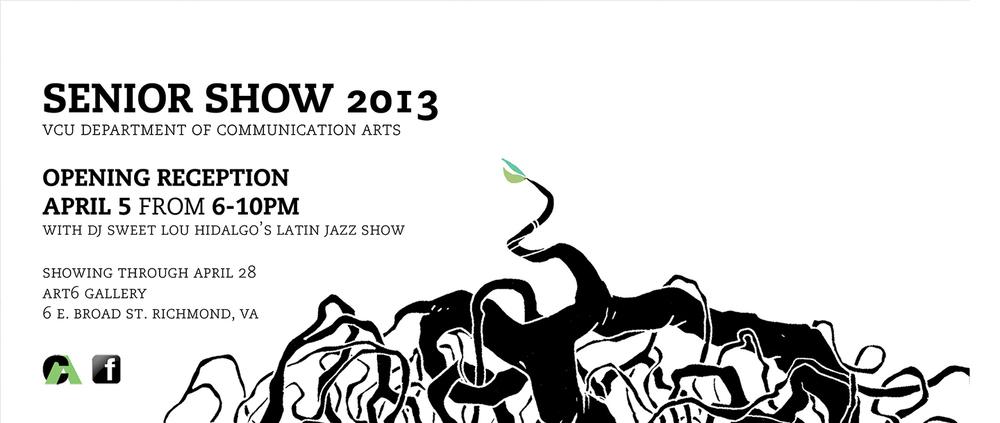 show postcard/flyer