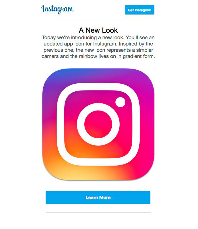 Instagram Icon & UI Redesign