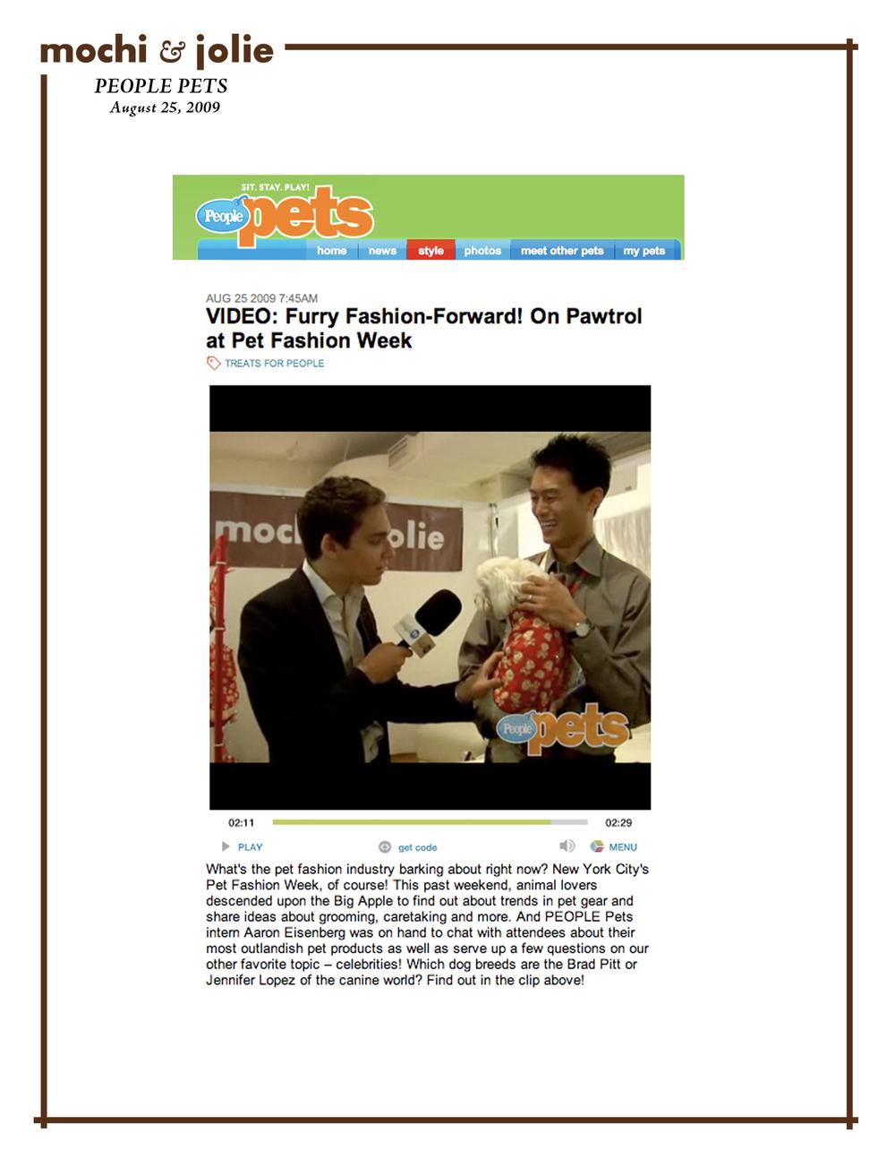 People Pets (August 25, 2009)
