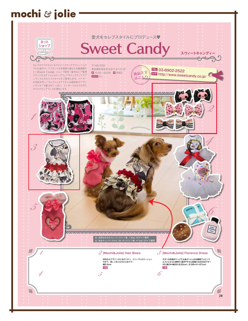 Sweet Candy in Japanese Magazine