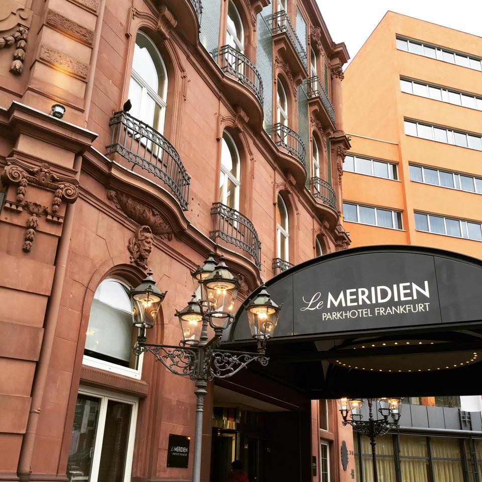 The beautiful Le Meridien Park Hotel we stayed while we were in Frankfurt. Central location, great service and only minutes away from the Central Station, very convenient. Highly recommended.