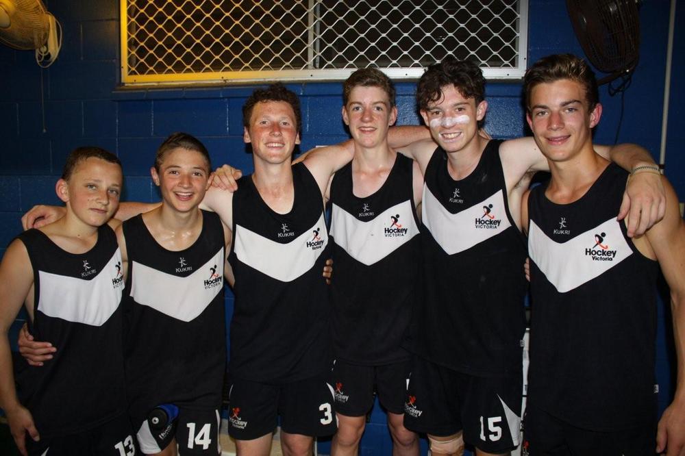 L-R: Luke Scott, Tom Sinclair, Jonno Bretherton (VC), HarryVanderkley, Max Hendry (C) and Pat Coates.