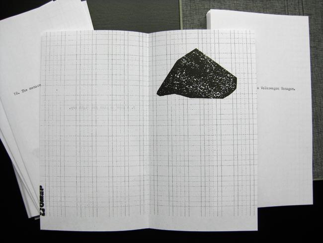 artist book letterpress