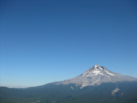 Mt Hood from Tom Dick and Harry Mountain