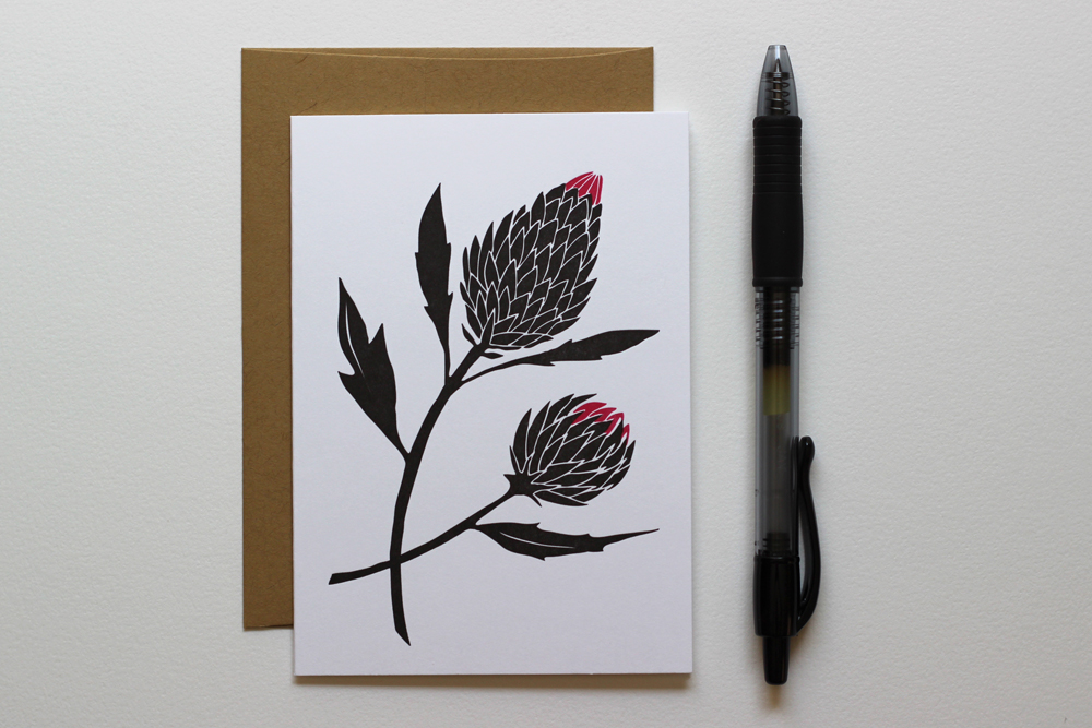 thistle-notecard