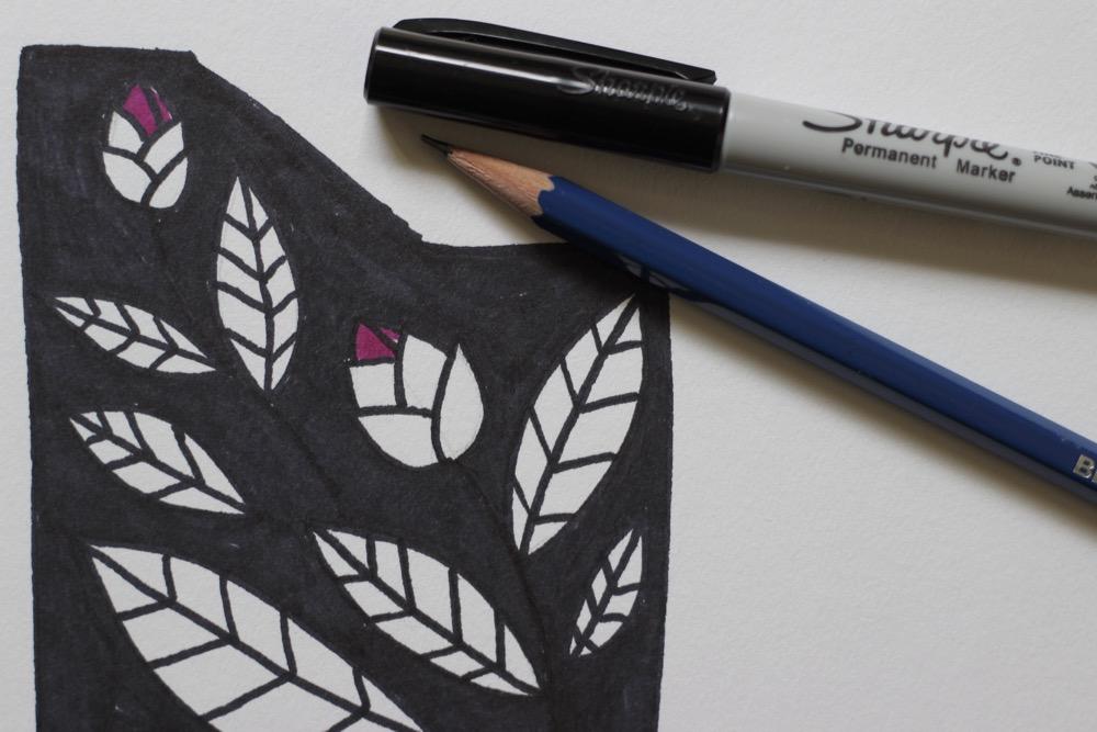 black-camellia