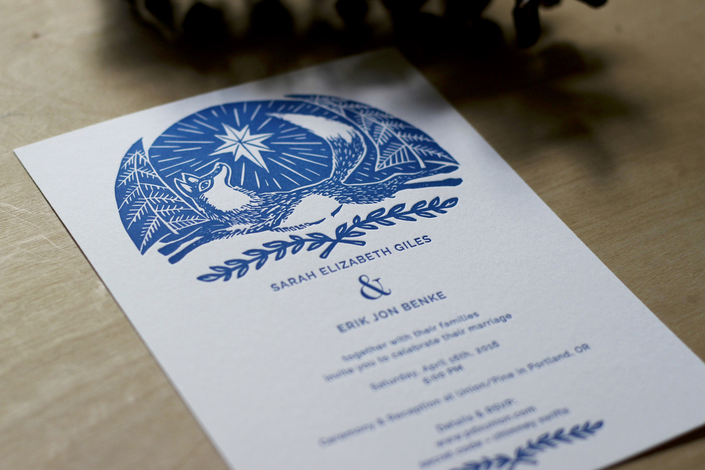 fox-wedding-invitation