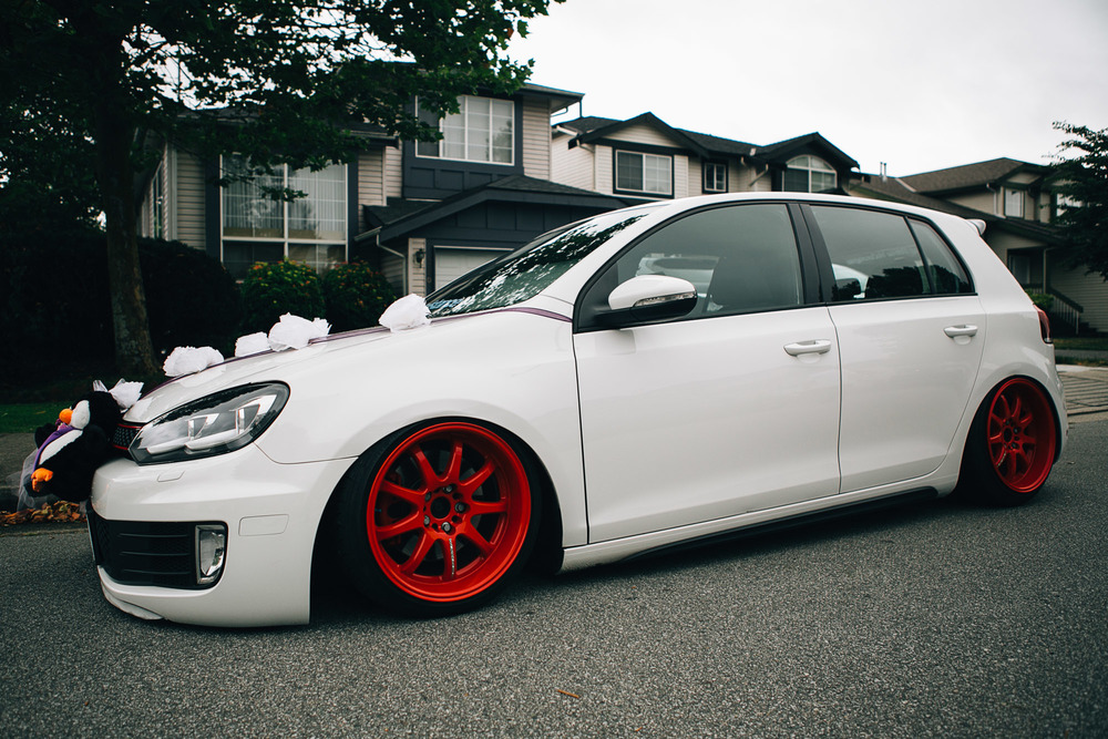 Golf Gti Art Of Stance Vancouver Wedding Photographer