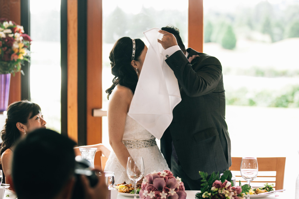 Burnaby Wedding Photographers Vancouver Noyo Creative Kiss