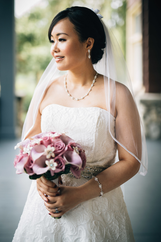 Deer Lake Park Wedding Photographers Noyo Creative Bride Portrait
