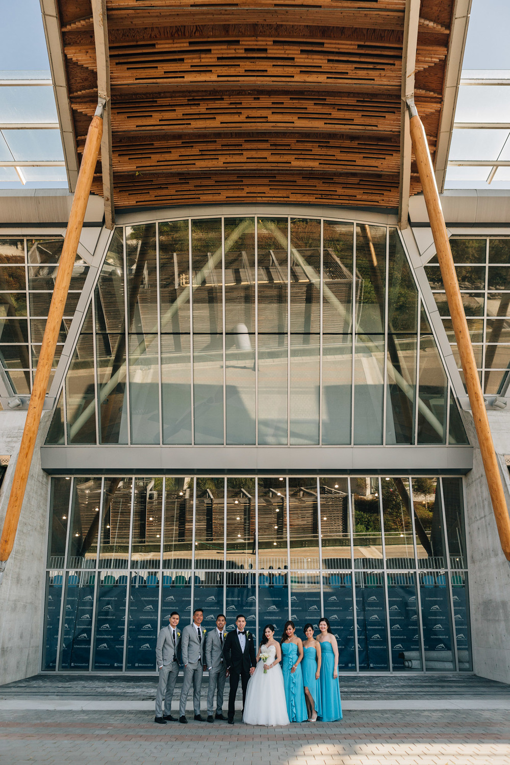 richmond olympic oval wedding photographers noyo creative