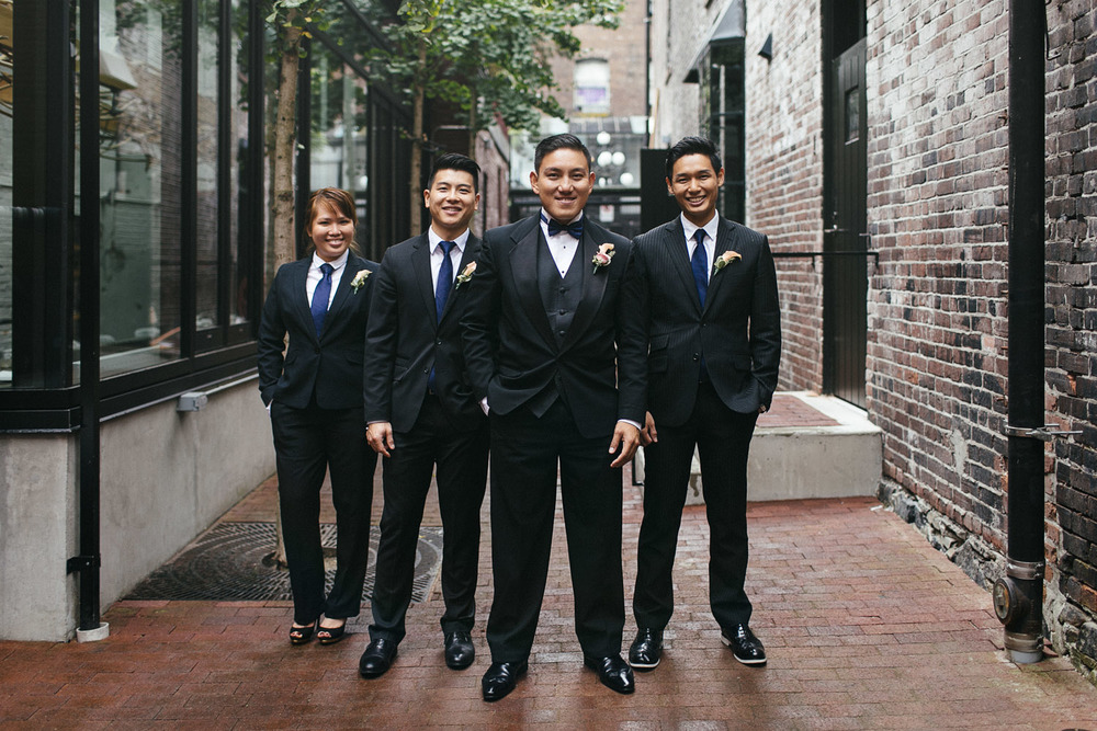 gastown wedding photographers noyo creative vancouver groomsman singapore