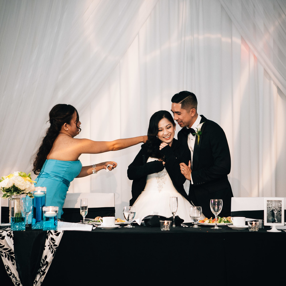 filipino wedding photography westin wall centre reception vancouver airport noyo creative