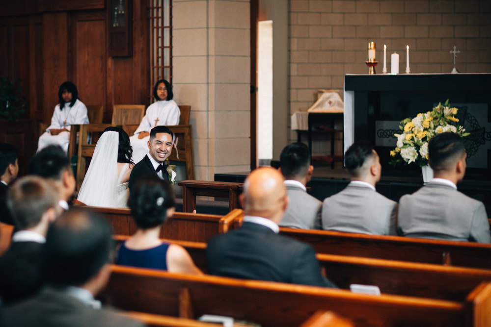 vancouver filipino wedding photography st. patrick's parish catholic church noyo creative