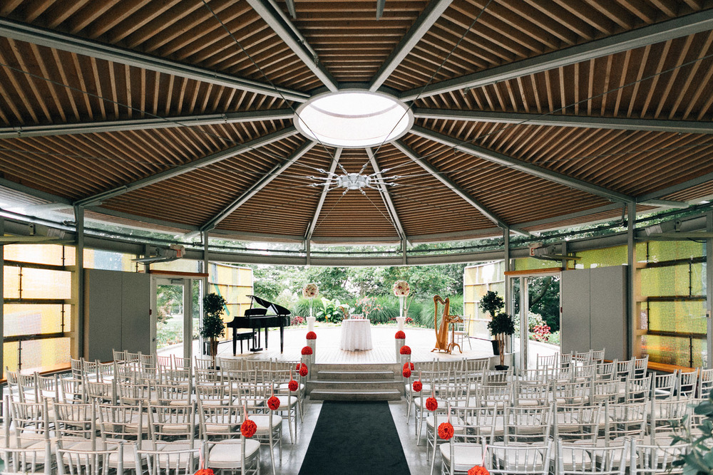 Queen Elizabeth Park Vancouver Wedding Photography Pavilion Ceremony