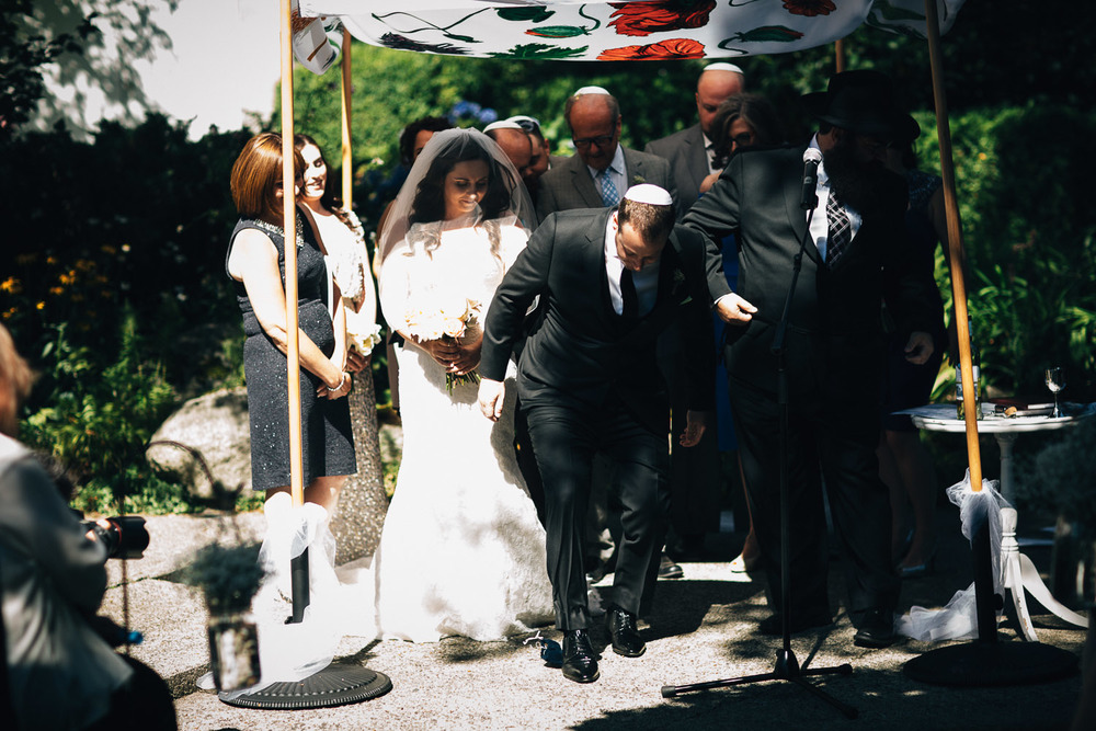 vancouver jewish wedding ceremony photography noyo creative