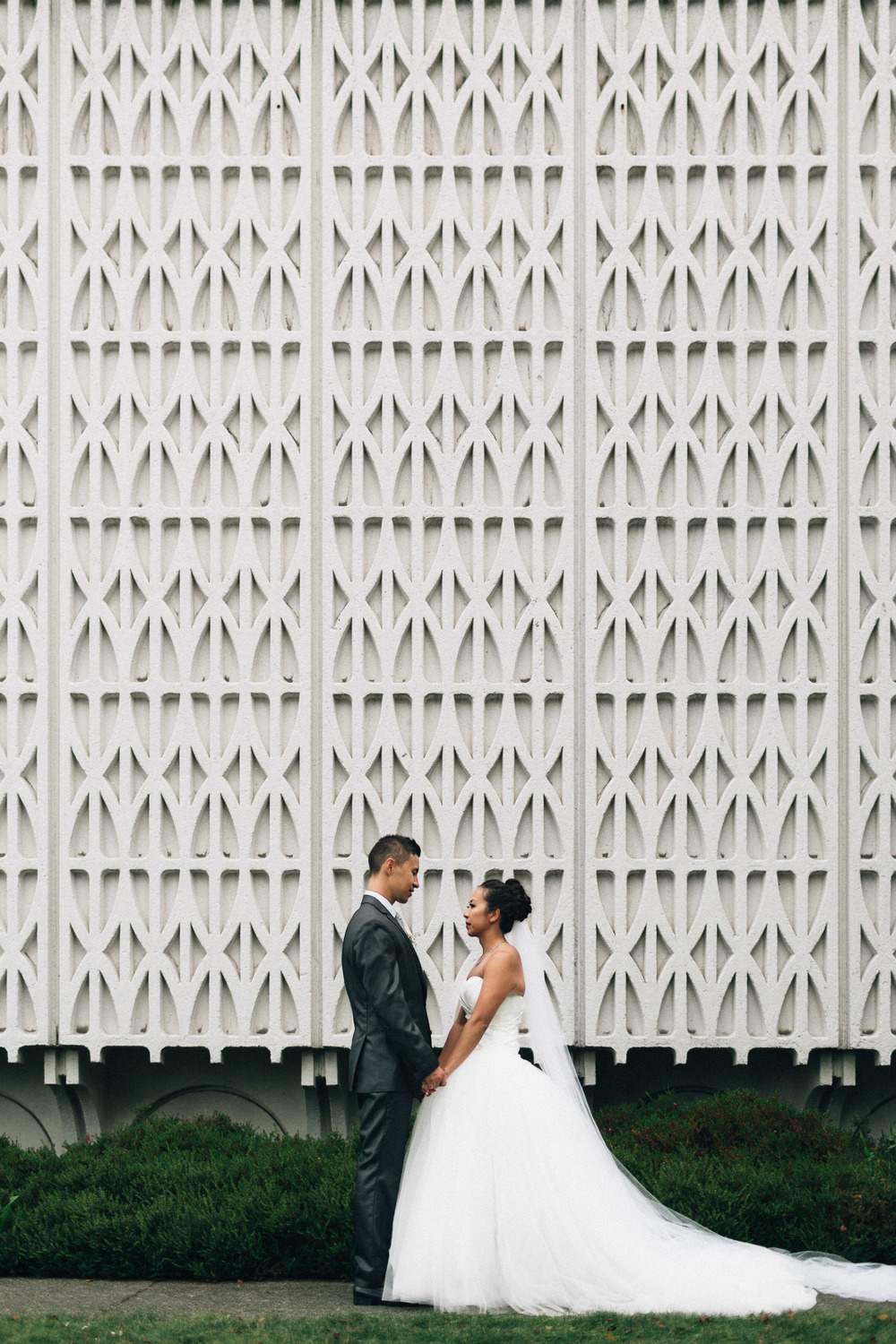 museum of vancouver wedding photography bride groom