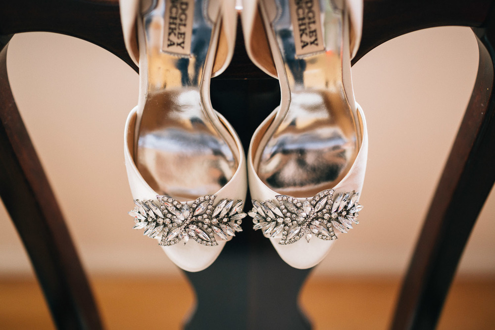 badgley mischka bridal shoes vancouver wedding photography