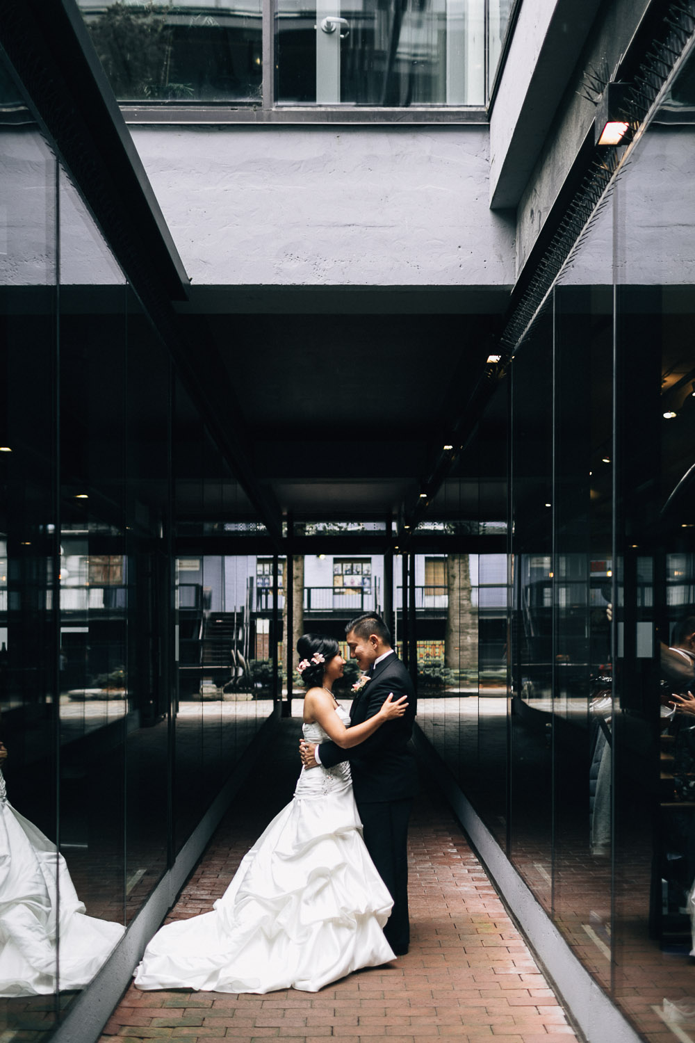 gastown vancouver wedding photography
