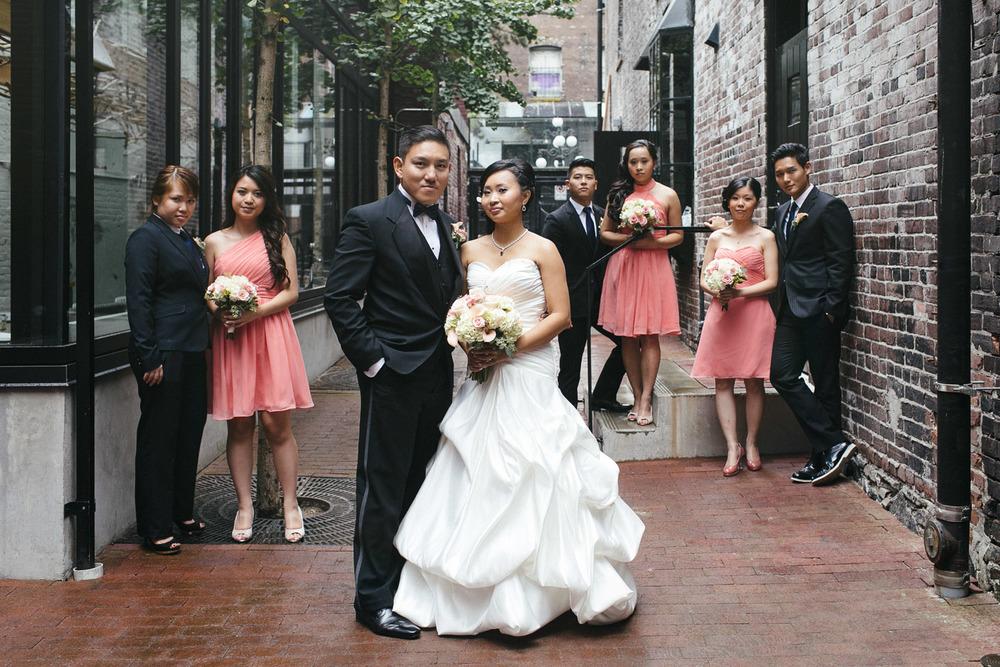 gastown vancouer wedding photography