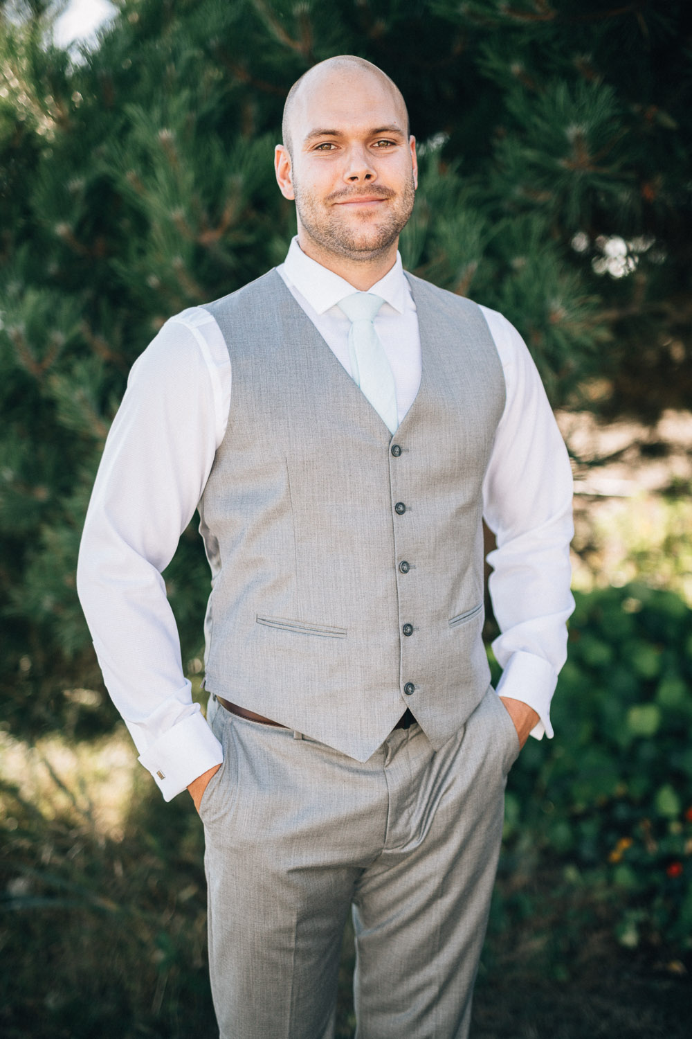 groom portraits destination wedding photographer based in Vancouver