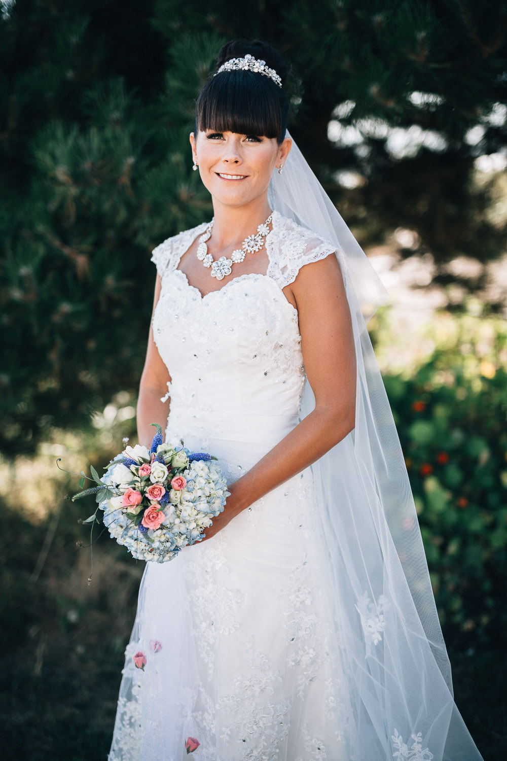 bride portrait destination wedding photographers based in Vancouver