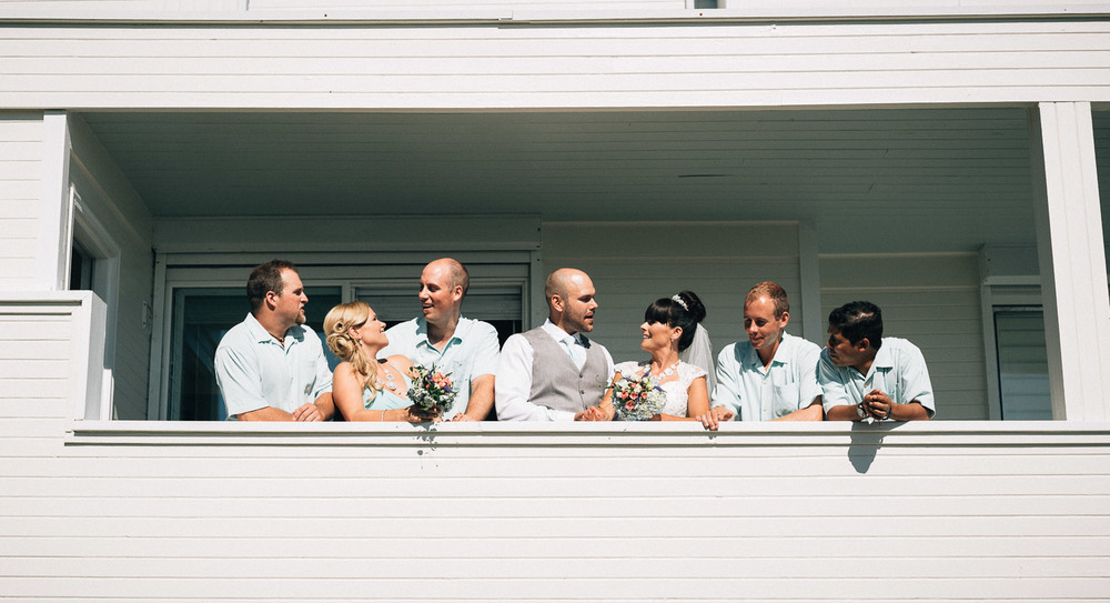bridal party portraits at point roberts wedding photography destination