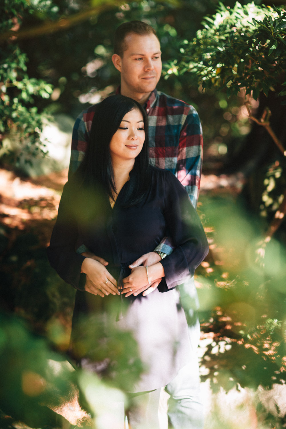 vancouver engagement photographer ubc asian centre