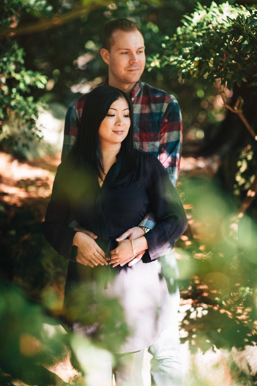 vancouver engagement photographer ubc asian centre