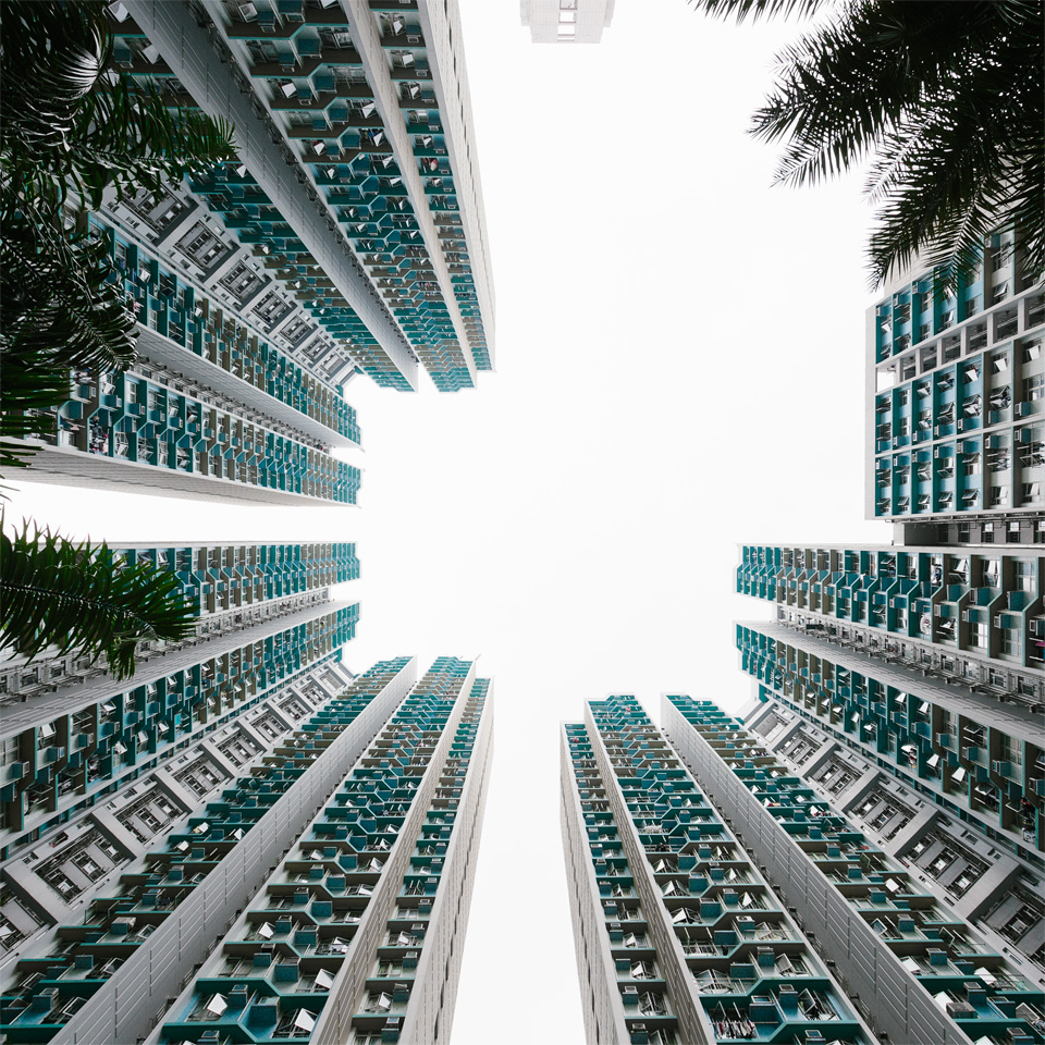 Hong Kong architecture photography public housing