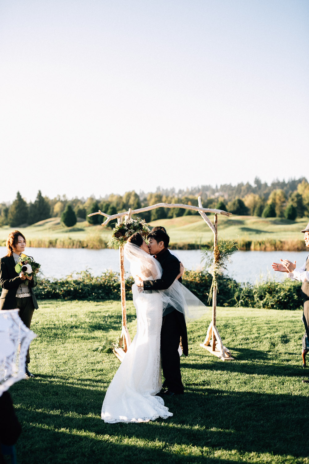 riverway golf course wedding burnaby bc ciel amp nathan