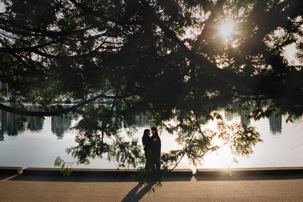 beaver lake trail vancouver engagement photography stanley park