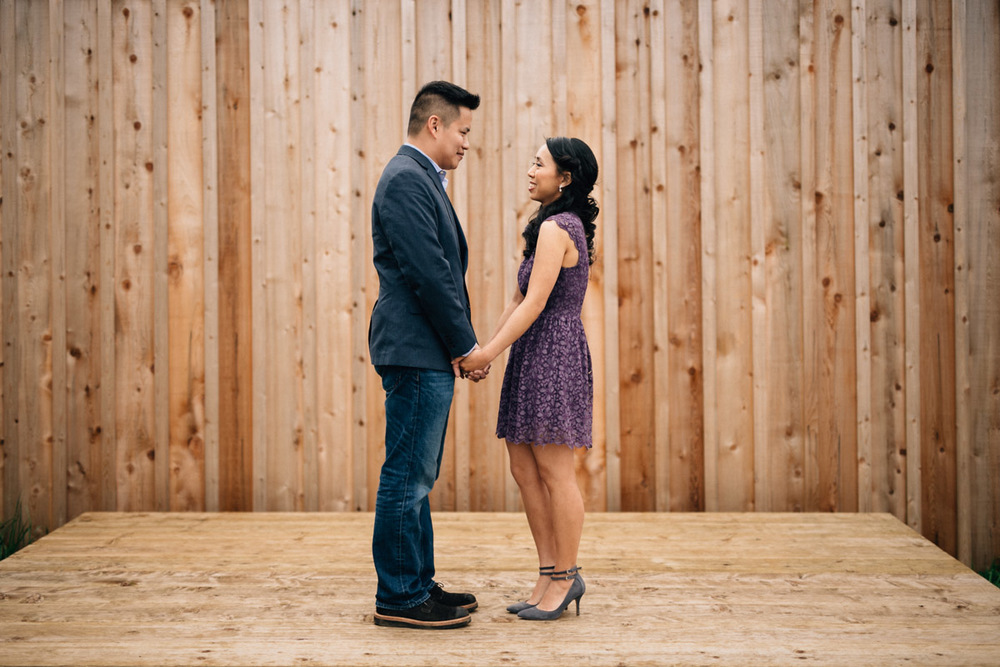britannia shipyard engagement photography in richmond BC
