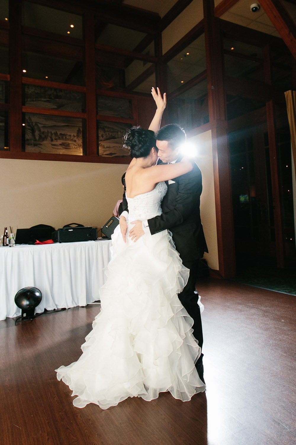 first dance westwood plateau golf club wedding photographers coquitlam reception