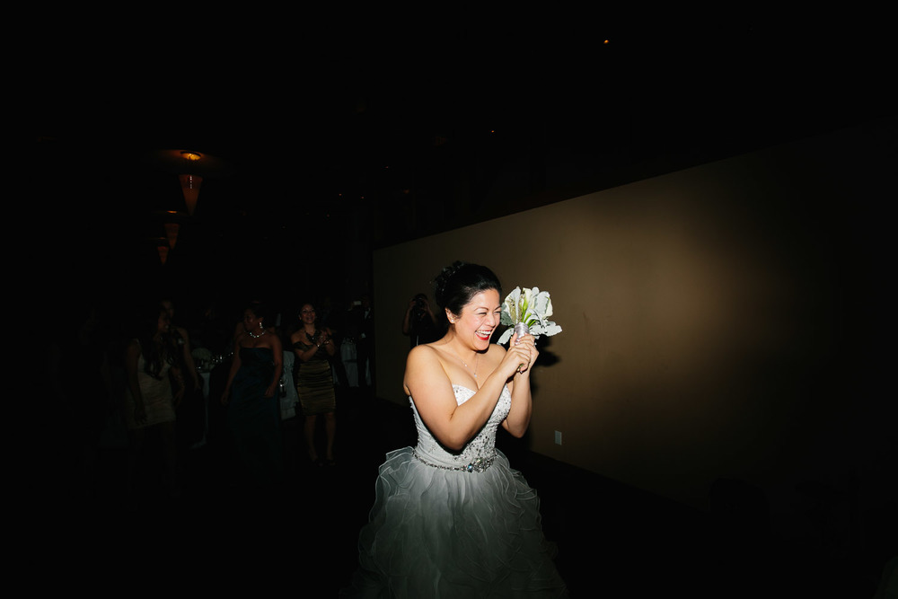 flower toss bridal wedding photography