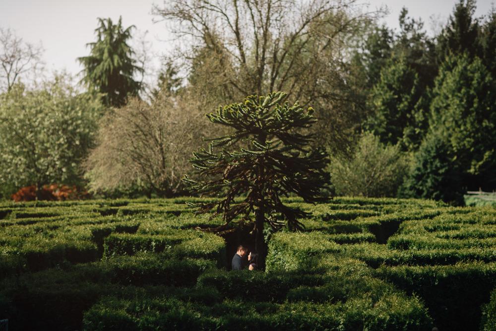 vancouver engagement photography vandusen botanical garden