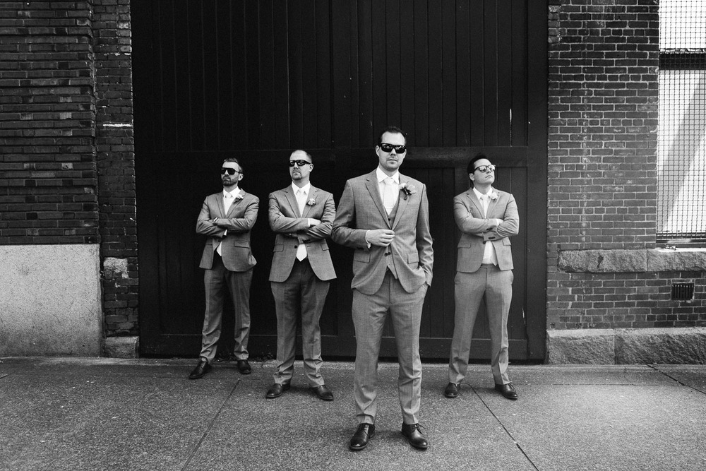 gastown vancouver wedding photographer black and white vsco