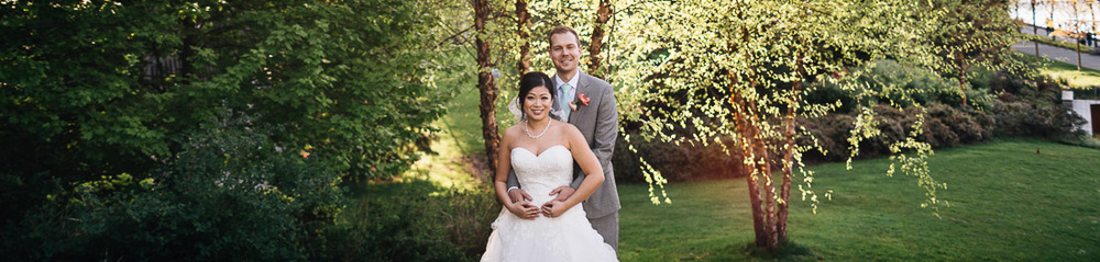 vancouver bride and groom wedding photography portrait panorama